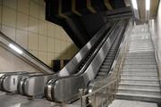 مصدومیت شدید و سقوط زوج میانسال بر روی پله برقی