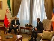 دیدار ظریف با همتای ارمنستانی خود