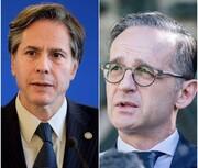 گفتگوی وزرای خارجه آلمان و آمریکا درباره توافق هستهای ایران