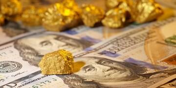 ریزش ۱۰ دلاری طلا در بازارهای جهانی