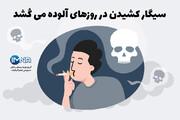 خطر استعمال دخانیات در روزهای آلوده