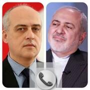 تماس تلفنی ظریف با همتای گرجستانی خود