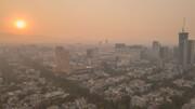 کیفیت هوای تهران در شرایط ناسالم برای همه گروهها / ۲۵ ایستگاه در وضعیت قرمز