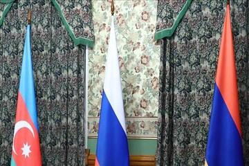 نشست سهجانبه نمایندگانی از مسکو، باکو و ایروان درباره قرهباغ