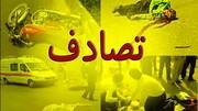 سکته راننده تاکسی تهرانی وسط بزرگراه حادثه آفرید