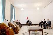 الکاظمی گفت وگو را مبنای حل مشکلات منطقه دانست