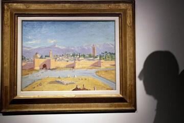 آنجلینا جولی نقاشی «چرچیل» را به فروش گذاشت