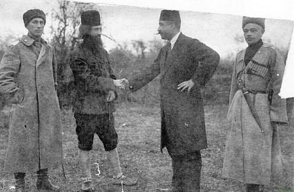 تصویری نایاب از میرزا کوچک خان