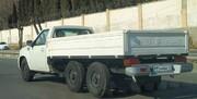 خودروی ۶ چرخ سایپا وارد خیابانهای تهران شد + عکس و مشخصات خودرو