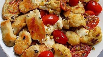 دستور پخت خوراک مرغ و سبزیجات؛ غذایی سالم و مقوی