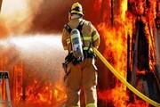 جان باختن یک نفر بر اثر آتشسوزی منزل مسکونی در خیابان پیروزی