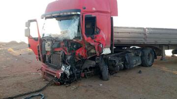 تصادف در جاده نایین ۲ کشته و ۳ زخمی برجای گذاشت