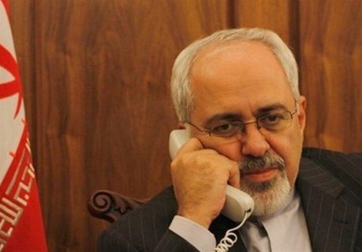 ظریف با وزیر امور خارجه تایلند تلفنی گفت و گو کرد