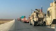 کاروان نظامی آمریکا وارد شرق سوریه شد
