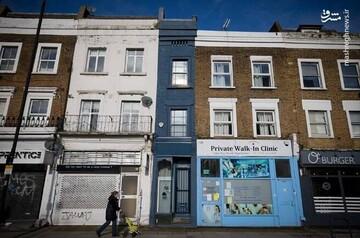خانه باریک و عجیب دو متری در لندن! / فیلم