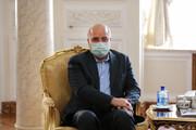دیدار قالیباف با رئیس شورای فدراسیون روسیه