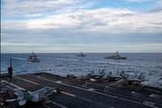 برگزاری رزمایش در دریای چین جنوبی توسط ۲ ناوگروه تهاجمی آمریکا
