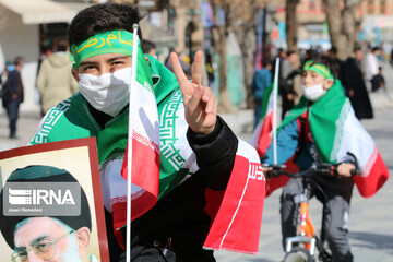 راهپیمایی ۲۲ بهمن در همدان/ تصاویر