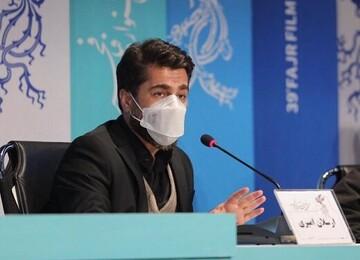 صحنه جالب افتادن سیمرغ از دست ارسلان امیری کارگردان فیلم «زالاوا»/ فلیم