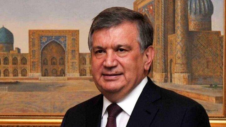 تبریک رییس جمهور ازبکستان به مناسبت سالروز پیروزی انقلاب