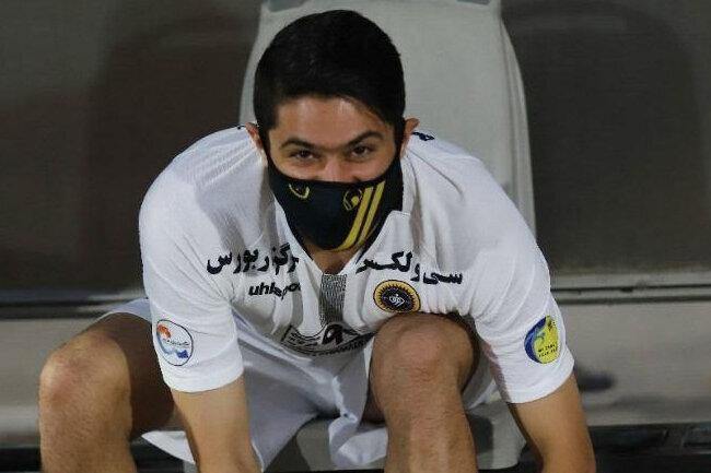 شایان مصلح دیدار حساس تیمش مقابل استقلال را از دست داد