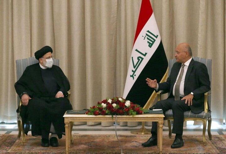 دیدار و گفتگو رییس قوه قضائیه با رییسجمهور عراق