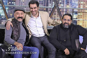 شوخی های علی انصاریان و رضا صادقی در برنامه «همرفیق»/ فیلم