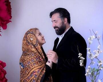 تصویری از همسر بهاره رهنما و دخترش