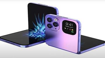 شرکت اپل نخستین گوشی تاشو خود را بزودی روانه بازار خواهد کرد