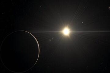 کشف یک خورشید با عمر ۱۲۰ میلیون سال