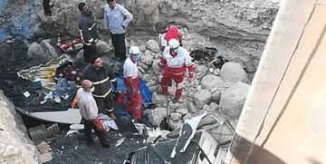 تصادف در بزرگراه آزادگان ۴ کشته و مصدوم به جا گذاشت