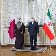 روایت وزیر خارجه قطر از سفرش به تهران و دیدار با ظریف