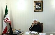 روحانی: اکنون توپ در زمین آمریکا است
