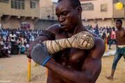تصاویری دیدنی از دامبه یا مسابقات بوکس با یک دست