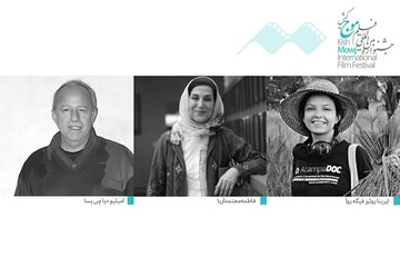 فاطمه معتمدآریا داور جشنواره فیلم موج شد