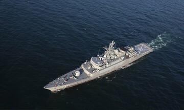 تصاویری از رزمایش مشترک ایران و روسیه در دریای عمان و اقیانوس هند