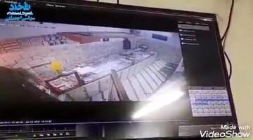 حمله مسلحانه سارقان به طلافروش سمنانی /فیلم