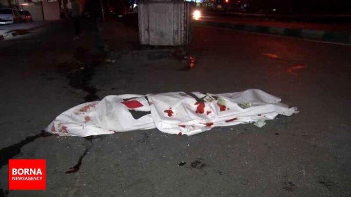 یک کشته بر اثر تصادف ام وی ام در بزرگراه یادگار امام