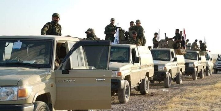 رییس الحشدالشعبی حامل نامه نخستوزیر عراق به رییسجمهور سوریه