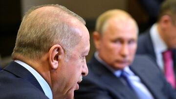 گفتوگوی تلفنی پوتین با اردوغان