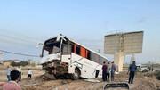 تصادف خونین اتوبوس در سبزوار/ آمار مصدومان اعلام شد