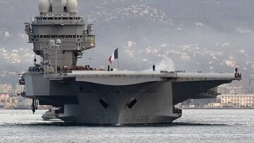 ناو شارل دو گل فرانسه به خلیج فارس میرود