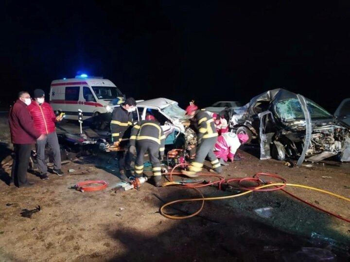 جانباختن ۲ تن از هنرمندان نامی ارومیه در سانحه تصادف رانندگی