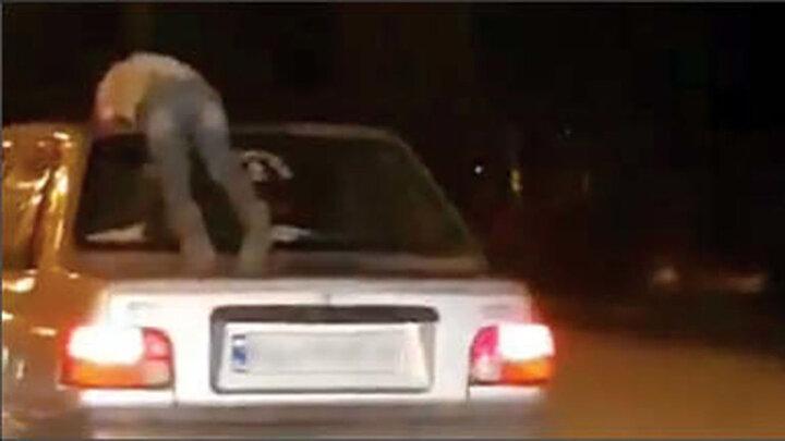 کودک آزاری وحشتناک با پراید در مازندران/ فیلم