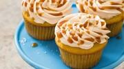 نحوه درست کردن کاپ کیک کاراملی + مواد لازم