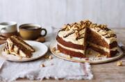 نحوه  درست کردن کیک قهوه کافی شاپی