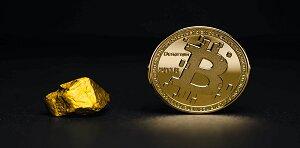 اتفاقی تاریخی رخ داد؛ بیت کوین از طلا ارزشمندتر شد
