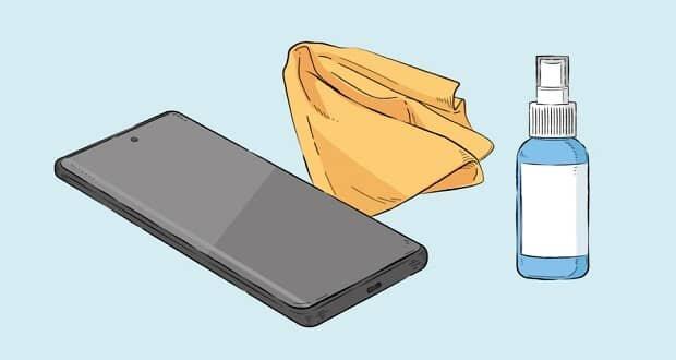 چند نکته مهم برای تمیز کردن و ضدعفونی کردن گوشی
