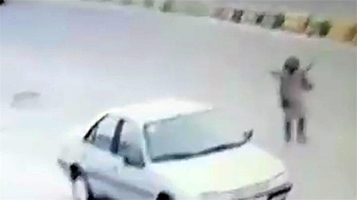واکنش زن مالباخته پس از دزدی خودرویش/ فیلم