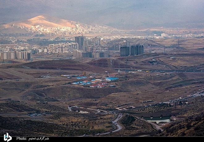 تصاویر هوایی زیبا شهر شیراز